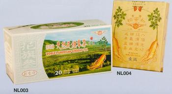 American Ginseng Tea & Yee On Wo(U.S.A. Ginseng Tube)