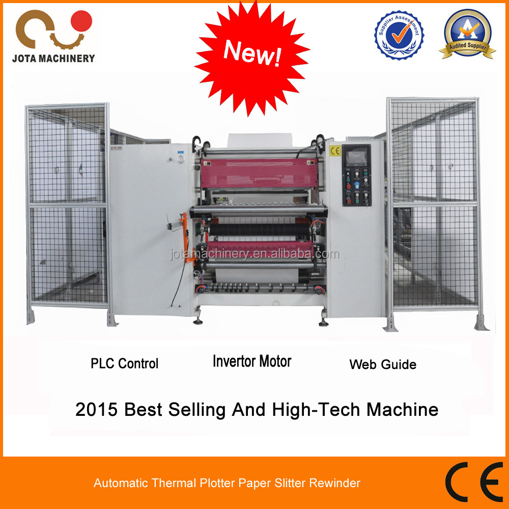 Fax /Thermal/ Cash Paper Roll To Roll Cutter Machinery