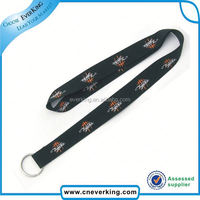 Good Quality Fashion camouflage jacquard lanyard in 2015