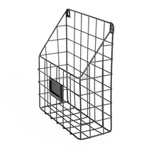 Mesh Wire Wall Mount Hanging File Holder Mail Organizer Document Storage Magazine Rack