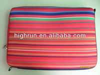 (New Arrival)Neoprene Strip Fashionable laptop Sleeve