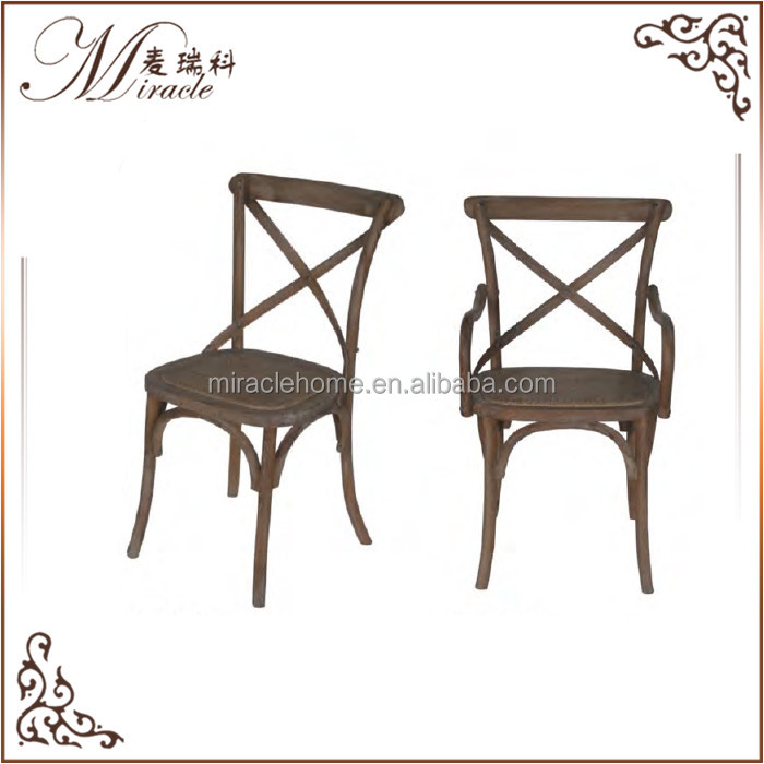 Wholesale French Style <strong>Antique</strong> X Cross Back Chair