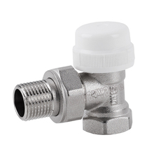 Angle Type Thermostatic Radiator Valve with ABS Cap