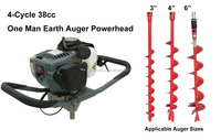 Thunderbay Y38 4-Cycle Earth Auger Portable digging machines