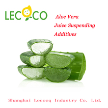 New product promotion aloe vera drink suspending additives