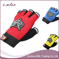 Funky Half Finger Fitness Motorcycle Gym Sport Gloves