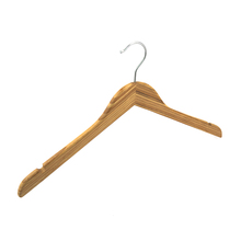 Bamboo hanger for pants clothes storage wall