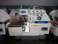 BR-747/747F 4 thread overlock industrial sewing machine good price