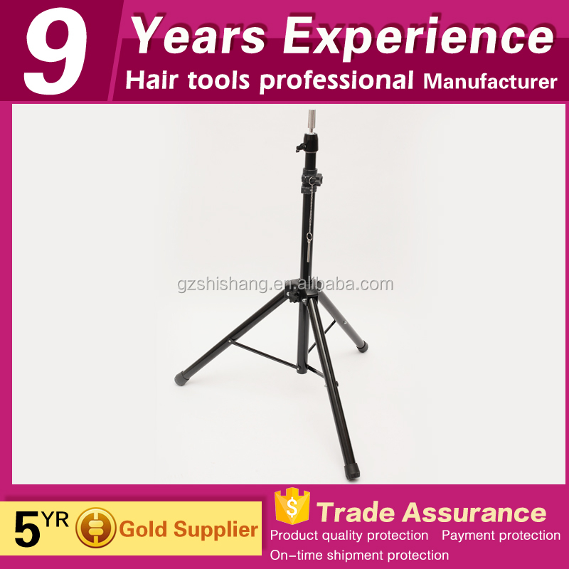 salon wig stand hair mannequin tripod for sale
