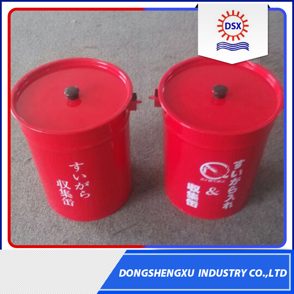 Low Price Stainless Steel Airtight Trash Can/Ash Bin