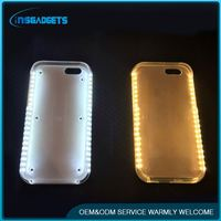 China 2016 new products flashing lights mobile phone case ,h0tvw illuminated cases silicone phone case for iphone