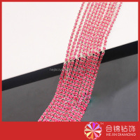 Wholesale fashion fancy cup chain crystal rhinestone trimming, chain trimming , crystal cup chain