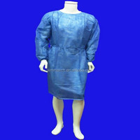 Factory price PP/SMS/SMMS isolation gown disposable clothing