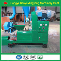 Hot selling large capacity biomass screw briquette machine 008618937187735
