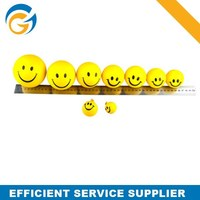 2014 Promotional Anti Stress Toy OEM Smiley PU Ball
