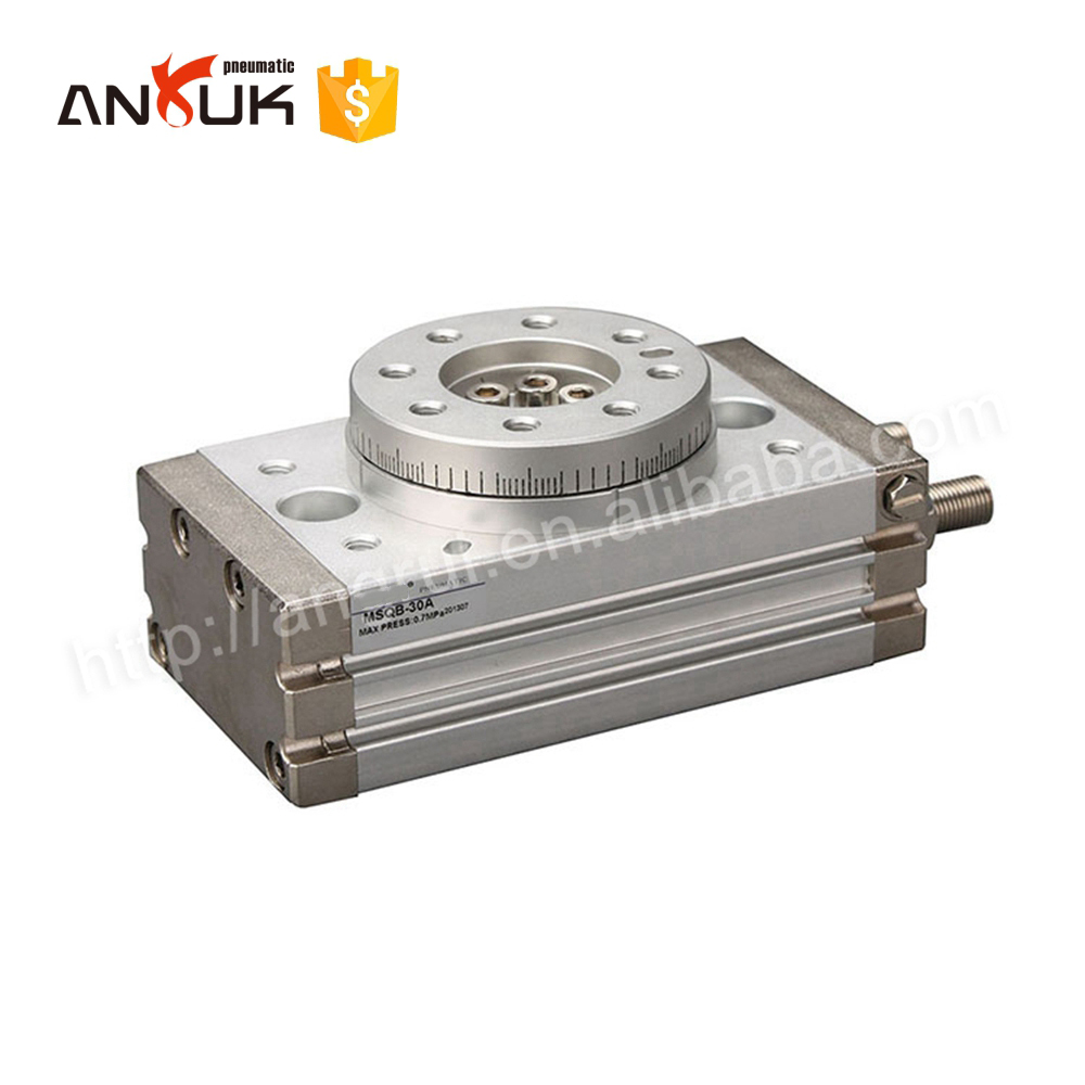 Hot sell rotary table type MSQB high precision oscillating cylinder
