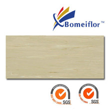 Hospital use anti-bacterial anti-static Bomeiflor Directional Homogeneous Pvc Flooring SheetBM2007
