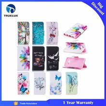 New Arrival Cell Phone Case for Samsung Galaxy S8 Plus Painting Knife Buckle Card Bracket Leather Case