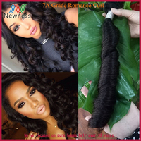 100% Unprocessed Top Grade Perfect Spiral Curl curl brazilian human hair wet and wavy weave hair