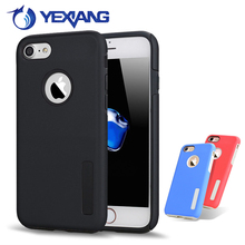 heavy duty PC +TPU robot holster case for iphone 6/iphone 6S