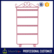 fashional design jewelry hang metal display stands