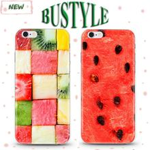 High-end Quality Clearly Fruits Design Slim Cover Case for Apple iPhone 4 5 6 6s plus from Manufacturer Wholesale