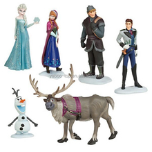 (New) 6pcs 4-11cm Movie Frozen Action Figure, High Quality Custom Cute Frozen Figures Supplier, Frozen PVC Figure