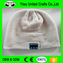Unisex Cool Knitted Cap Bluetooth Hat Winter Warm Beanies Bluetooth Music Hats