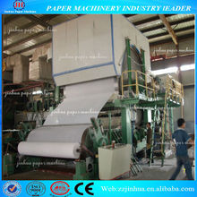 1880mm single-cylinder and single-wire tissue paper machine