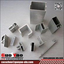 Hot Sale 6063 T5 Aluminum Extruder Profiles From GUOYAO Aluminum profile supplier