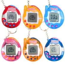 Factory Wholesale Multi-color Cartoon Electronic Pet Mini Hand-hold Game Machine, a Gifts Toy