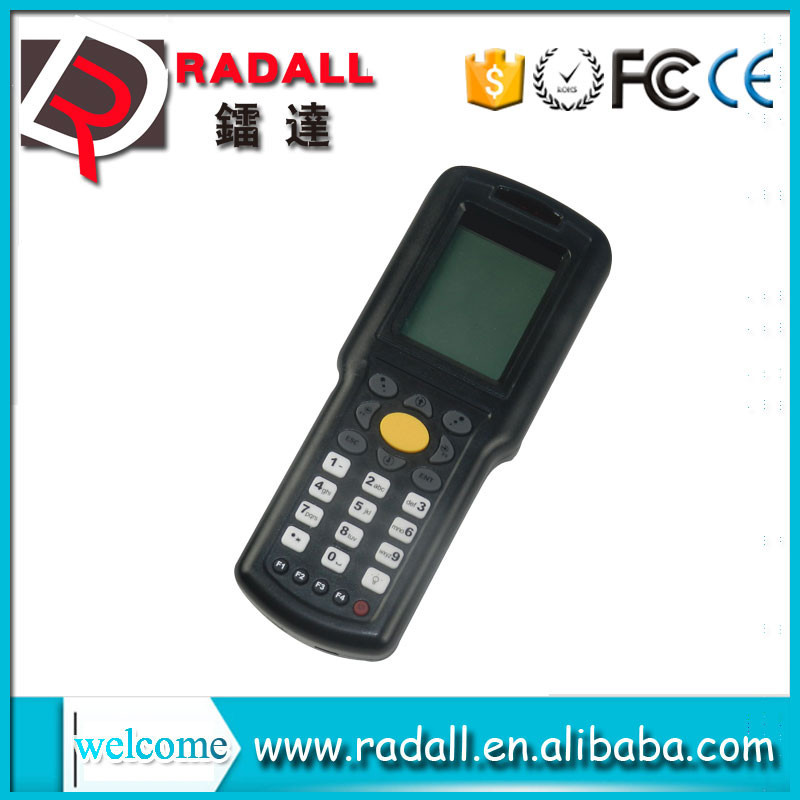Trade Assurance RD 9800 32 bit wireless data collector code bar scanner upload data to excel with keyboard for shops