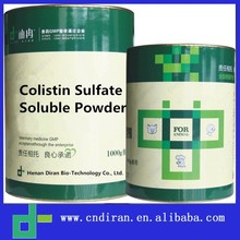 Antibacterial Powder Colistin Sulfate Soluble Powder