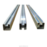 Aluminium fence glass posts/professional aluminium post supplier