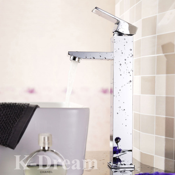 High quality Brass water tap chrome plated wash basin mixer tap