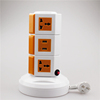 ME-S3 Three Layers Overload protection Power Extension Cord of Electrical Outlet Multi Plug with 5 Meters power line