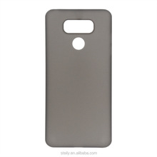 World's thinnest 0.4mm matte finishing super slim PP mobile phone case cover for LG G6