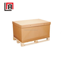 Jumbo Brown Storage Boxes Protective Corrugated Cartons