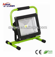 Rechargeable led work light 20w with handle and car charging