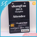 Enviroment friendly custom plastic card pvc card identification card with free sample