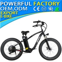 26 inches 36v 500w aluminum alloy Electric fat tire bike suspension fork e-bike YY-I-26 NEW 02