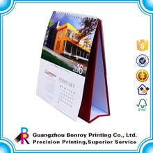 OEM best folding luxury fashion popular table top calendar