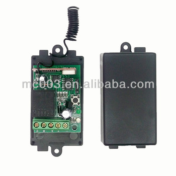 Popular DC 12V/24V 315/433mhz Garage Door Opener Receiver