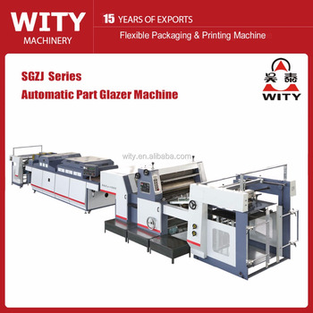 SGZJ Automatic Spot UV coating machine price
