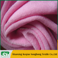 2015 hot selling cheap 100% cotton microfiber terry cloth towels fabric for wholesales