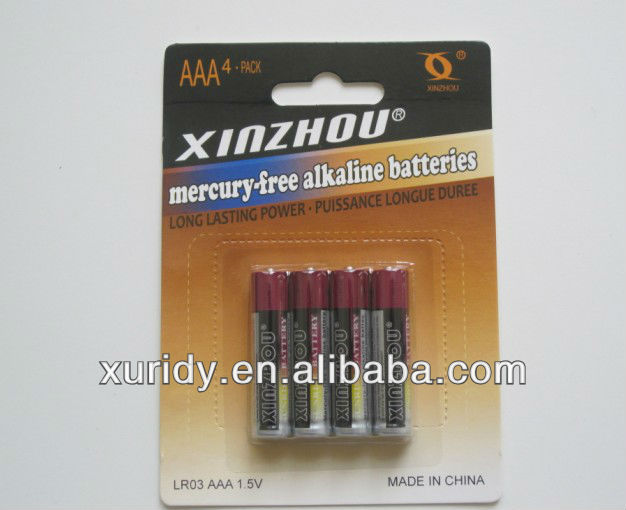 alkaline battery AAA