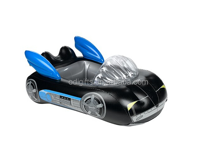 inflatable pool float in batman shape pool toy