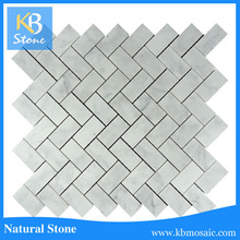 hot sale low prices 1x2 herringbone mosaic tile kitchen backsplash tile