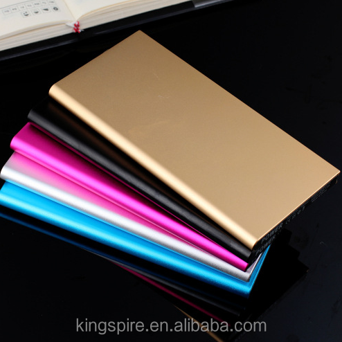 Battery Charger 8000 mah Slim Lithium Polymer Power Bank With LED Light