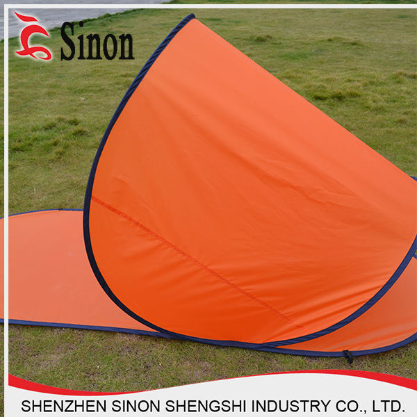 cheap camping folding beach sun shelter shade spring steel wire pop up tents